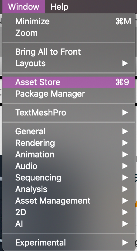 Can I download an asset without opening the Unity Editor? Is