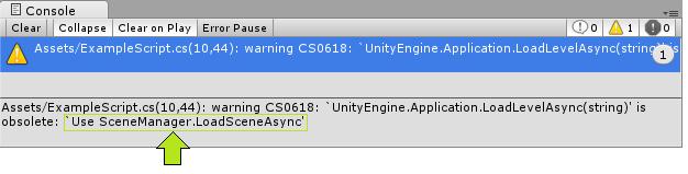 What is CS0618? – Unity