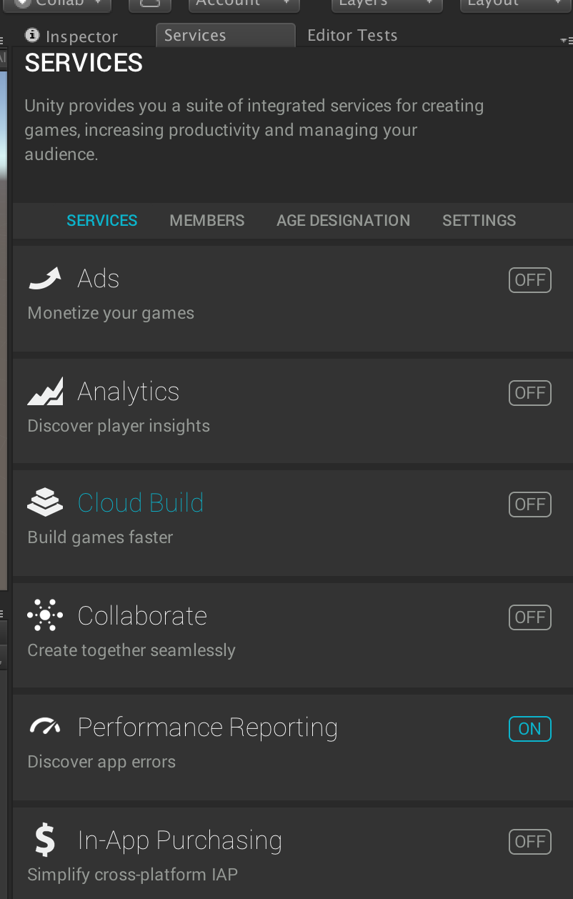 I am receiving performance data on my device, but not in the Editor